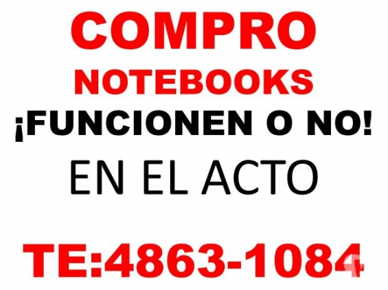 Compro notebooks netbooks funcionen o no 4863-1084