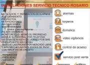 Servicio Tecnico Instalaciones Sistema Seguridad Rosario