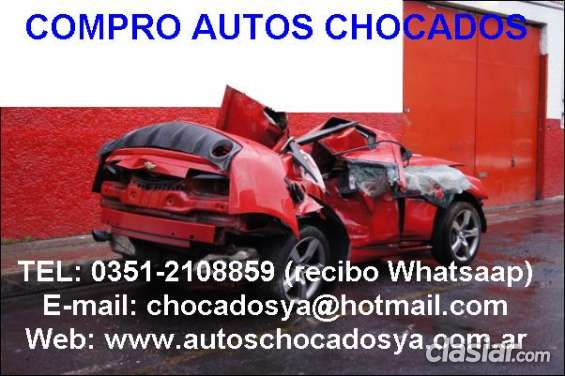 Compro autos chocado