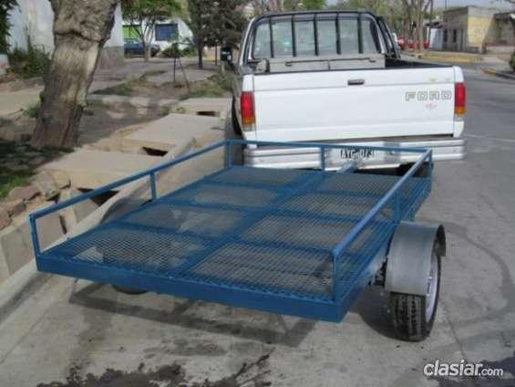 Vendo nuevo trailer okm para cuatriciclo o motos en excelente estado.