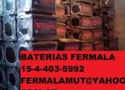 Baterias Autos Willard y Moura capital mataderos mejor precio FERMALA