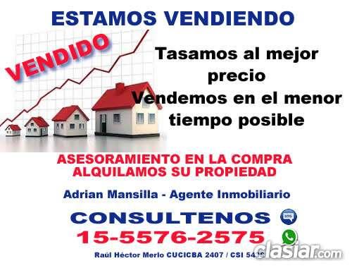Tasamos su propiedad zona palermo, belgrano c, recoleta telefono (15-5576 2575)