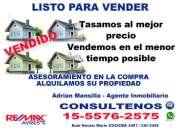 Tasamos y Vendemos Zna Recoleta, Belgrano , Palermo, Barrio Norte  Telefono *15-5576 2575*