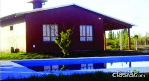 Alquilo cabaña para vacaciones en san rafael