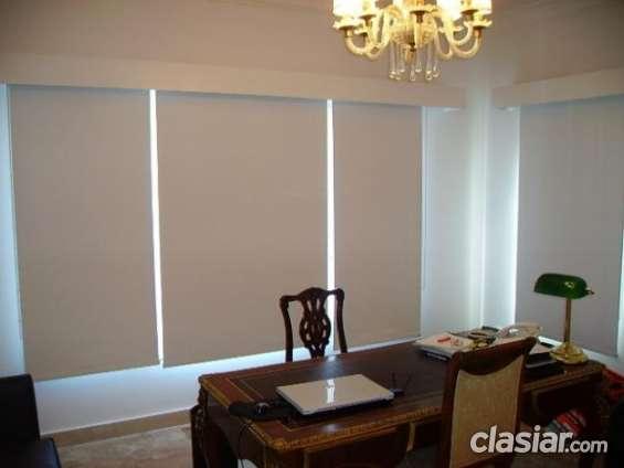 Fabrica de cortinas roller en black out realmente americano $ 470 m2