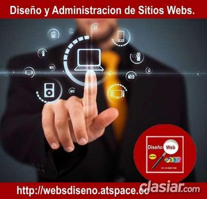 Diseno web y administracion de sitios webs.