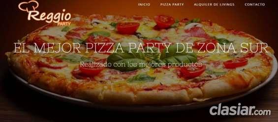 Pizza party -empanada party - alquiler de livings, gazebos - zona sur