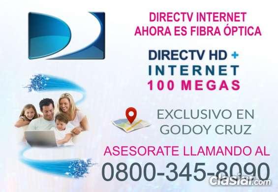 100mb !!!! contrata la fibra óptica de directv 0800-345-8090