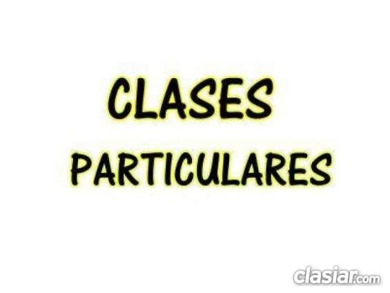 Damos clases particulares domingos sabados lunes martes miércoles jueves y viernes, individuales todo el año, incluso feriados y vacaciones, y a precios muy razonables!: pida su turno al 4903.4485 / 15-5734-5320 / 153-7704979 consultas a licenprof@gmail.c
