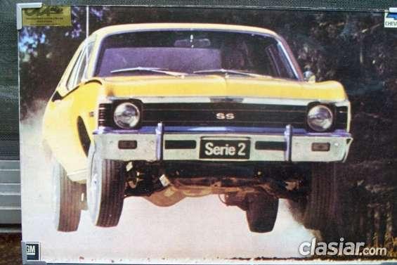 Chevy serie 2 *   campaña oficial gm * 1972 *