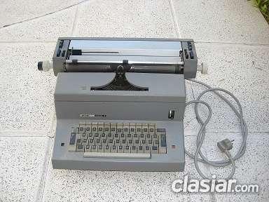 Máquina de escribir, colección y antigüedades