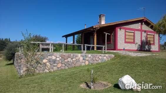 Cabaña del alto tupungato mendoza alquiler turistico y vinos
