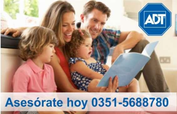 Adt alarmas 0351-5688780 - equipo 0$ + 6 meses al 50%