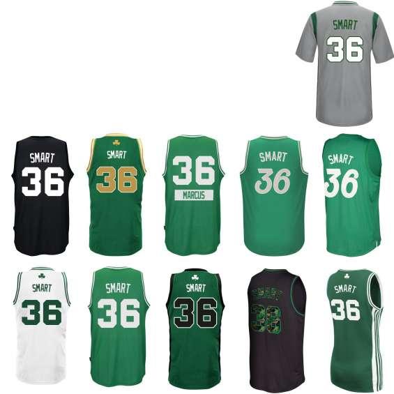 Camiseta celtics smart 36 verde