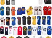 Camiseta Autentico Golden State Warriors Curry Azul