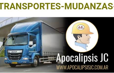 Transportes mudanzas fletes 24hs. whatsapp1166760699