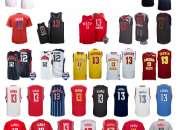 Camiseta Houston Rockets s Harden Rojo