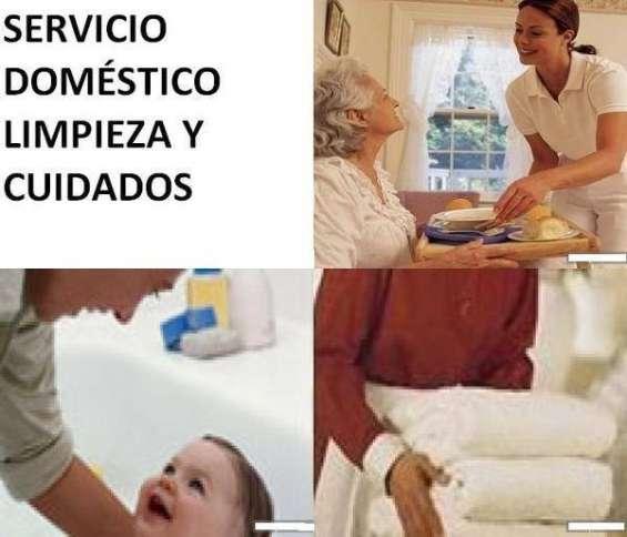 Señora busca trabajo domestico