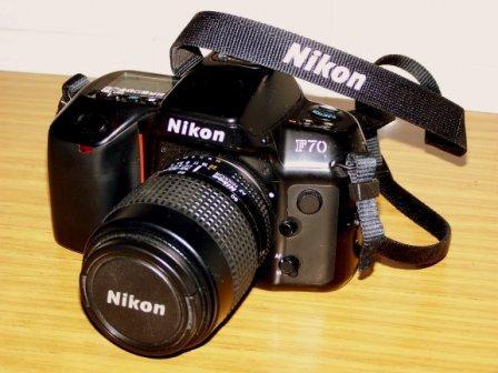 U$s 850 - nikon f70 + 2 lentes nikon + bolso