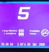 Nuevo Display LCD Azul para ascensores