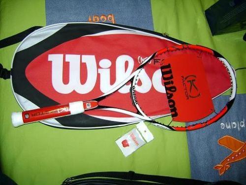 Venta de raquetas wilson y babolat originales