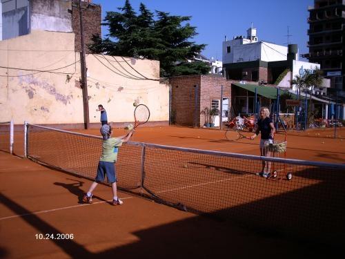 Academia tercerset escuela de tenis para niños