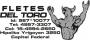 Mensajeria Del Toro $18 Cap. 4957-3307 15-4994-2650 nex 567*10077
