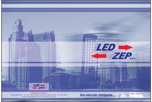 Mensajeria empresarial led-zep s.r.l. miniflet-moto-bici y a pie