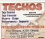 TECHISTA ZINGUERO 628*5662 ROUYS CONSTRUCCIONES