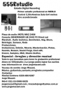 555Estudio, Primer Estudio de grabacion profesional en Merlo, Zona Oeste