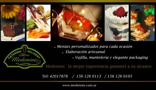 Medenine catering. lunchs para exigentes. fiestas memorables