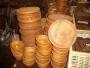 Platos de madera mucho stock y tamaños