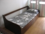 VENDO CAMA, $500: Diván cama  de madera maciza, nada de aglomerado...