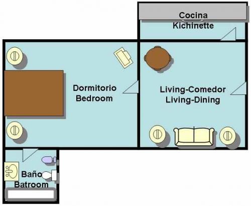 Dueño alquila apartamento en recoleta - av. callao y av. las heras