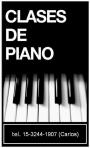 Clases de Piano y Teoria Musical
