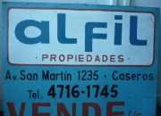 ALQUILO LOCAL SOBRE AVENIDA, 140 MTS.