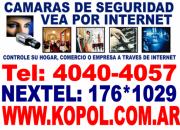 CAMARAS DE SEGURIDAD VIGILE POR INTERNET SU COMERCIO EMPRESA