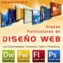 Clases particulares de diseño web con Dreamweaver, Fireworks, Flash y Photoshop