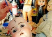 Clinica de muñecas antigua reparacion restauracion