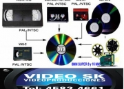Pasaje a  dvd  vhs/cine minidv/8mm-edicion digital