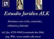 abogados estudio jurídico civil,comercial y laboral