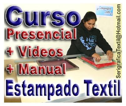 Curso completo de estampado textil - curso de serigrafía textil en capital federal