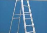 Escalera Aluminio Tijera Simple Acceso 2,70