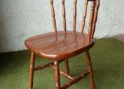 Silla boston en madera de guatambú asiento