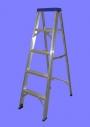 Escalera Tijera de Aluminio Uso Familiar. Todas las medidas. Directo de Fábrica