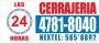 CERRAJERIA 24 HS((((((4781