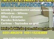 LIMPIEZA DE SILLONES Y TAPIZADOS.- CORDOBA