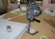 Cortador de ropa, taller de corte