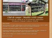 Muebles estilo campo   Club de Campo   Canning   Zona Sur   Buenos Aires