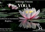Clases de Yoga Ashtanga en Zona Norte Olivos